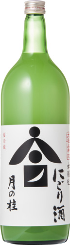 s【クール便送料無料6本セット】(京都)月の桂 本醸造 中汲にごり酒 1500ml