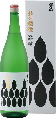 s【送料無料6本セット】 (北海道)男山 北の稲穂大吟醸 1800ml