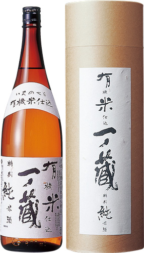 s【送料無料6本入りセット】(宮城)一ノ蔵 有機米仕込特別純米酒 1800ml 箱入り