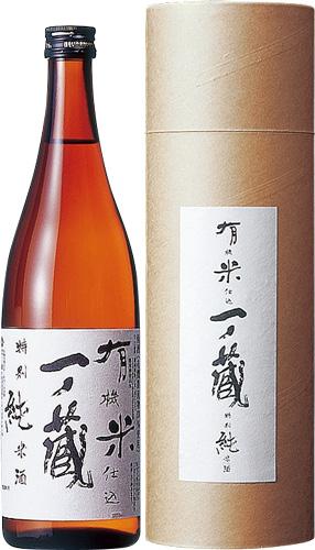 s【送料無料6本入りセット】(宮城)一ノ蔵 有機米仕込特別純米酒 720ml 箱入り