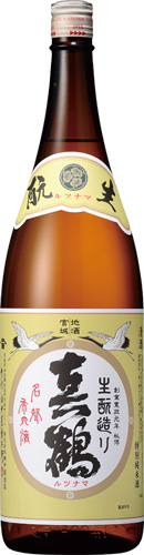 s【送料無料6本セット】 (宮城)真鶴 生もと 特別純米酒 1800ml