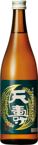 s【送料無料12本セット】 (秋田)天寿 米から育てた純米酒 720ml