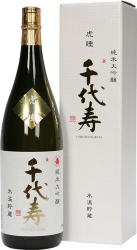 s【送料無料6本セット】 (山形)千代寿 虎睡 1800ml 純米大吟醸 こすい