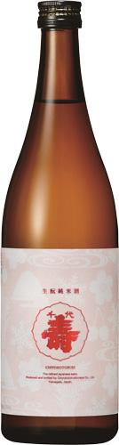 s【送料無料12本セット】 (山形)千代寿 生もと純米酒 1800ml