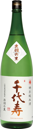 s【送料無料6本セット】 (山形)千代寿 出羽の里 1800ml 特別純米