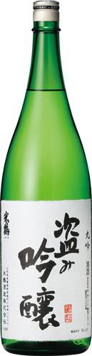 s【送料無料6本セット】 (山形)米鶴 盗み吟醸 丸吟 1800ml