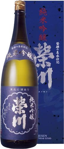 s 【送料無料6本セット】 (福島)栄川 純米吟醸 1800ml 箱入り