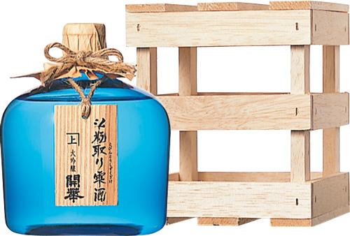 s【クール便送料無料6本入りセット】開華 「斗瓶取り雫酒」 青瓶 大吟醸 720ml