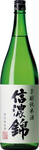 s【送料無料6本入りセット】(長野)信濃錦 芳醇純米酒 特別純米 1800ml