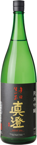 s【送料無料6本セット】(長野)真澄 辛口生一本 1800ml 箱入り 純米吟醸