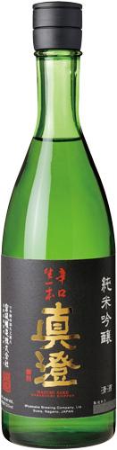 s【送料無料12本セット】(長野)真澄 辛口生一本 720ml 箱入り 純米吟醸