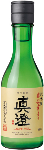 s【送料無料24本入りセット】(長野)真澄 純米 奥伝寒造り 300ml