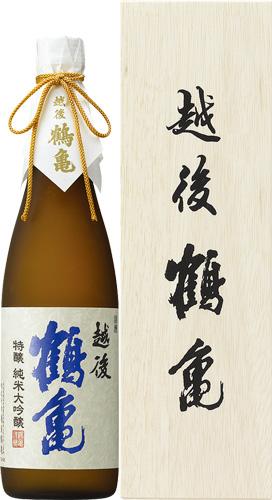 s【送料無料6本入りセット】越後鶴亀 特醸 純米大吟醸 720ml
