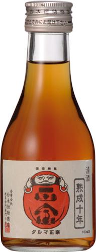 s【送料無料12本セット】(岐阜)達磨正宗 十年古酒 180ml