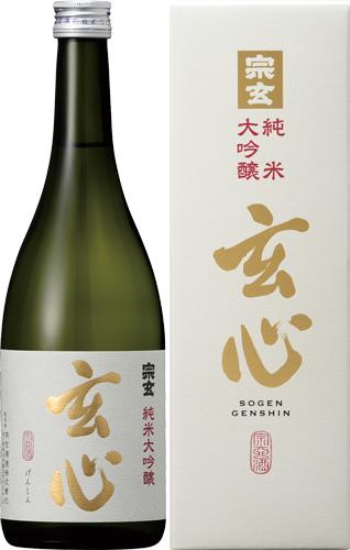 s【送料無料10本セット】(石川)宗玄 玄心 純米大吟醸 1800ml