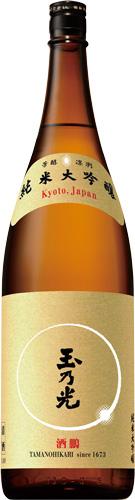 s【送料無料6本セット】(京都)玉乃光 純米大吟醸 酒鵬 1800ml 玉の光