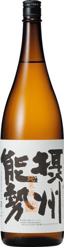 s【送料無料6本セット】(大阪)秋鹿 摂州能勢 1800ml 純米酒