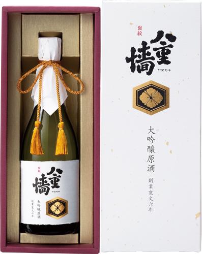 s【送料無料6本セット】(兵庫)八重垣 褒紋 720ml 大吟醸原酒