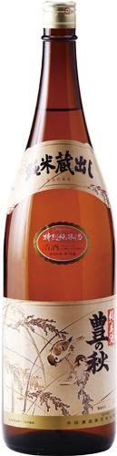 s【送料無料6本入りセット】(島根)豊の秋 雀と稲穂 特別純米 1800ml