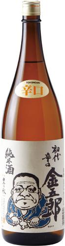 s【送料無料6本セット】(島根)豊の秋 金五郎 1800ml 純米辛口