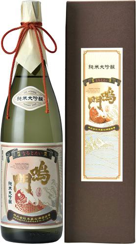 s【送料無料6本セット】(徳島)鳴門鯛 純米大吟醸 1800ml