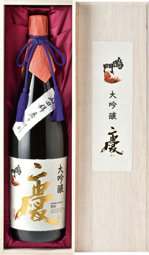 s【送料無料6本セット】(徳島)鳴門鯛 大吟醸 慶 1800ml