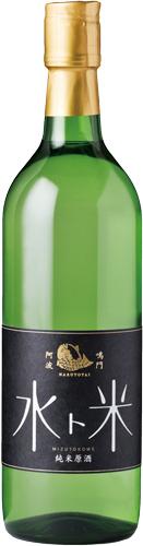 s【送料無料12本セット】(徳島)鳴門鯛 水ト米 720ml 純米原酒