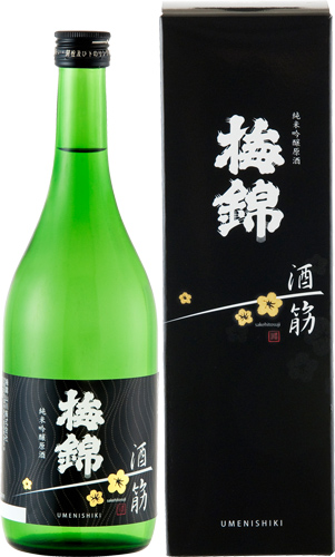 s【送料無料12本入りセット】(愛媛)梅錦 酒一筋 純米吟醸原酒 720ml