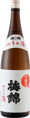 s【送料無料6本入りセット】(愛媛)梅錦 吟醸 つうの酒 1800ml