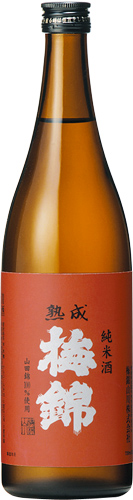 s【送料無料12本セット】(愛媛)梅錦 熟成 純米酒 720ml
