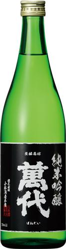 s【送料無料12本セット】(福岡)萬代 純米吟醸 720ml