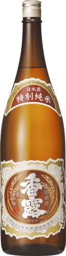 s【送料無料6本入りセット】(熊本)香露 特別純米酒 1800ml