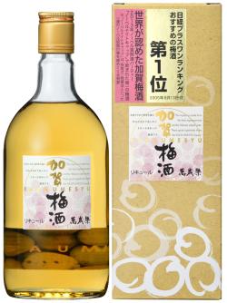 s【送料無料12本入りセット】(石川)萬歳楽 加賀梅酒 720ml