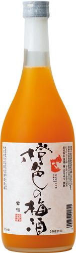 s【送料無料12本セット】(徳島)鳴門鯛 橙色の梅酒 720ml アルコール度数 12度台