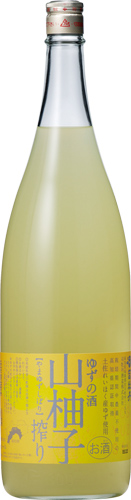 s【送料無料6本セット】(高知)司牡丹 山柚子搾り 1800ml アルコール度数 8度台