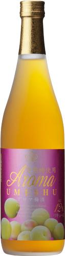 s【送料無料12本セット】(鹿児島)五代 アロマ梅酒 720ml アルコール度数 12度台