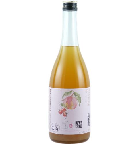 値引き 山形 子宝リキュール 山形もも 日本メーカー新品 楯の川酒造 720ml さくらんぼ