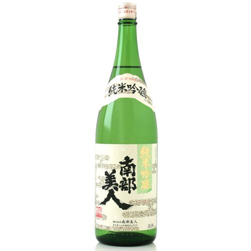 s【送料無料6本入りセット】(岩手)南部美人 純米吟醸 1800ml