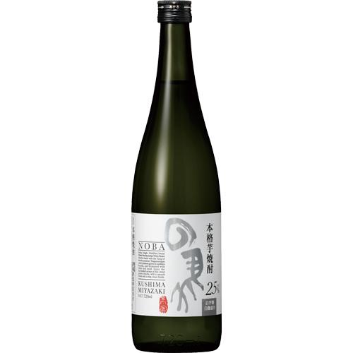 s【送料無料12本セット】(宮崎)の馬(のば)25度 白芋焼酎 720ml