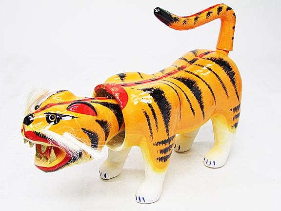 【五月人形】5C6007 張り子の虎 7号