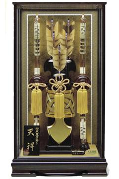 【破魔弓】135008 20号天祥破魔弓黒檀塗ケース飾