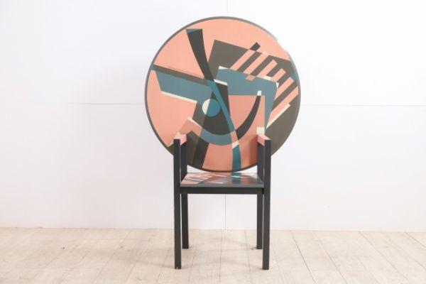 """正規品 ALESSANDRO MENDINI """"ZABRO"""" Table Chair メンディーニ alchemia【NEW】【中古家具/中古インテリア/USED家具ユーズド家具/リサイクル】"""