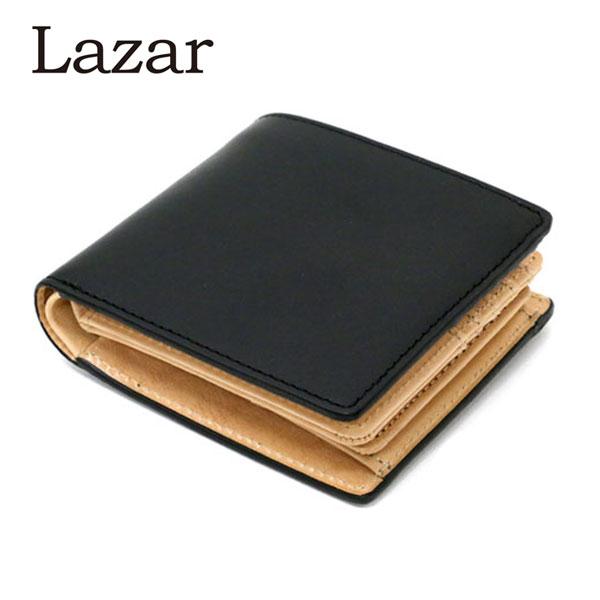 栃木レザー イタリアンレザー Lazar 二つ折り財布 メンズ 紳士 ビジネス 革財布 本革 財布 ラザル