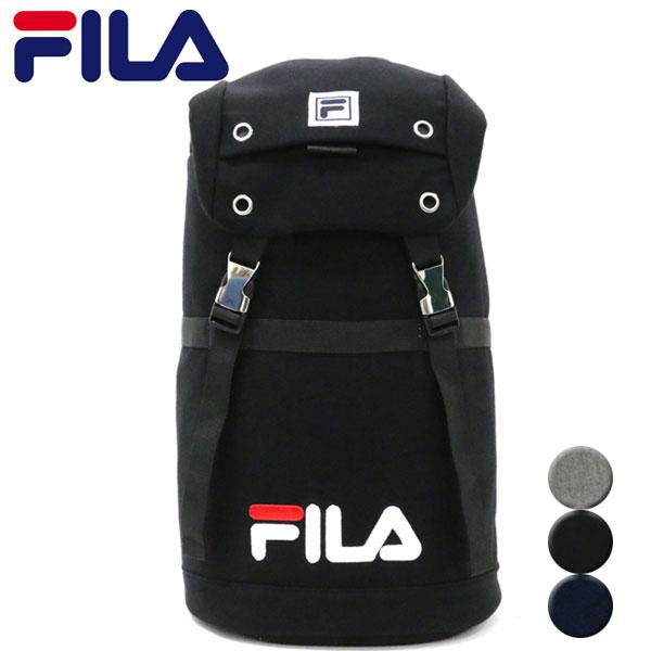 a77cf0e4f3 Fila rucksack backpack bag rucksack large-capacity attending school  commuting school student sports Shin pull ...