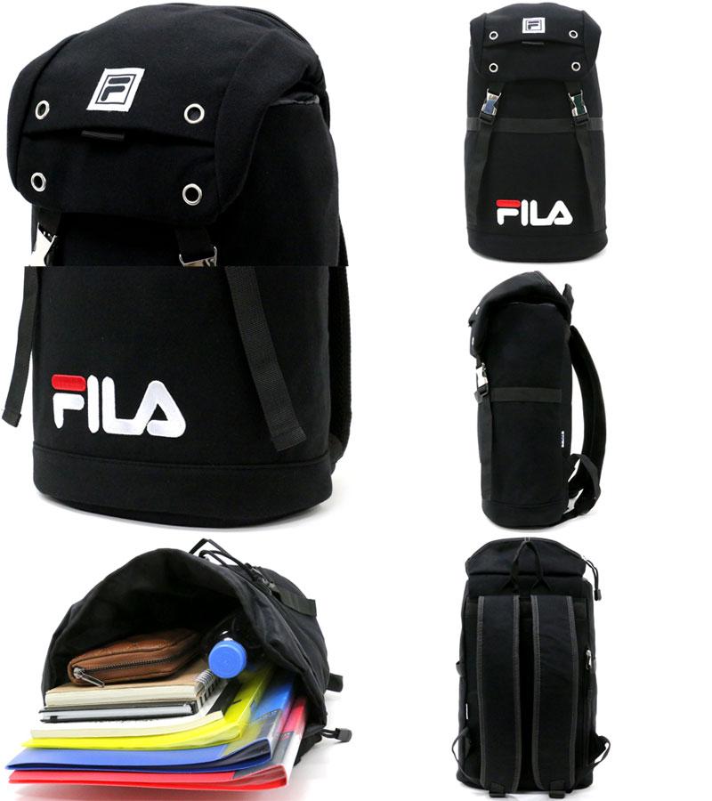 a99d8d0a34 ... Fila rucksack backpack bag rucksack large-capacity attending school  commuting school student sports Shin pull ...
