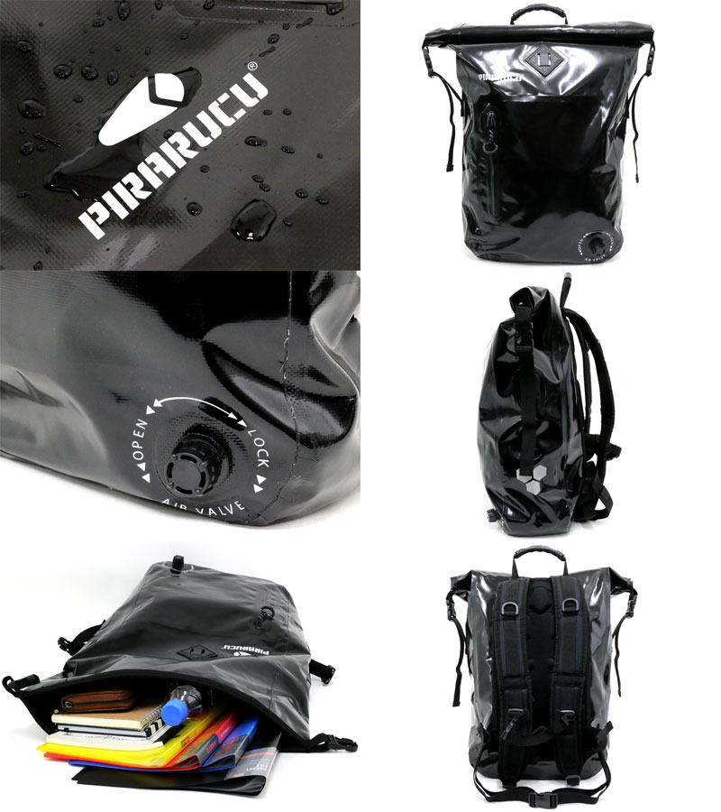 a3486ec392c5 Marukawa attached to the pirarucu pirarucu waterproofing bag backpack  rucksack 25L men s lady s man and woman combined use stylish attending  school ...