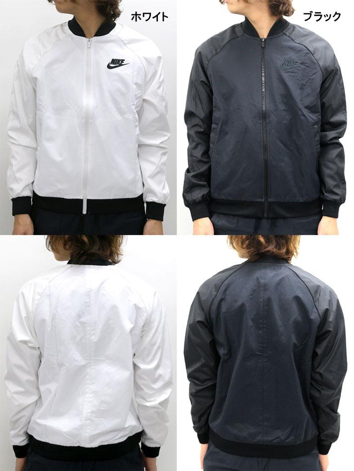 It is grr blouson white black MLLL832225 players jacket men in spring NIKE