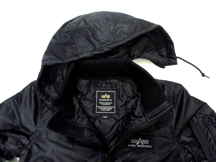 """阿尔法 / 阿尔法工业 # 20547-""""THERMOLITE' 高温纤维棉温暖 hudettorib 夹克"""