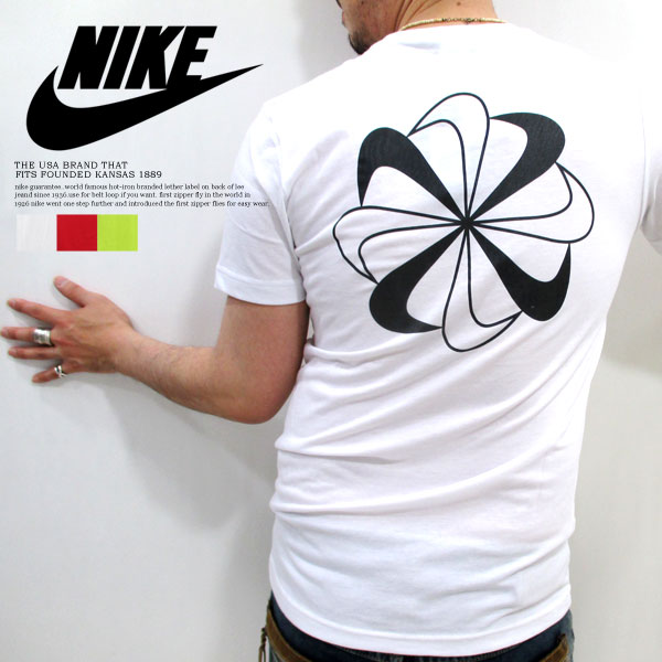 All NIKE Nike sports #450953 - T-cloth material ... three colors! '70s