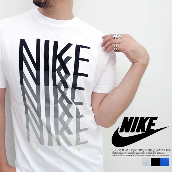 All NIKE Nike sports 611924 - T-cloth material ... three colors!
